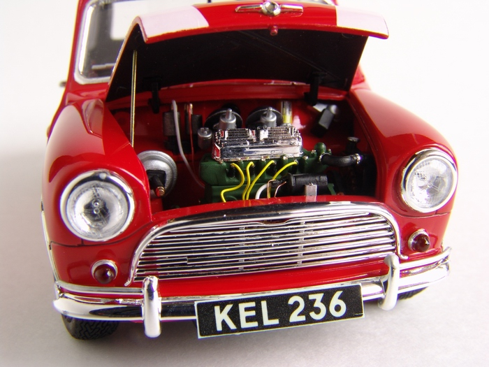 Tamiya 124 Morris Mini Cooper 1275s Mk1