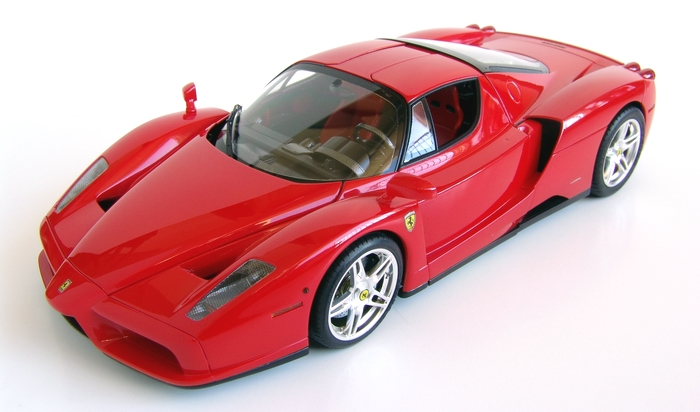 Tamiya 1/24 Ferrari Enzo with SMS/Sakatsu/Studio 27 Detail Sets