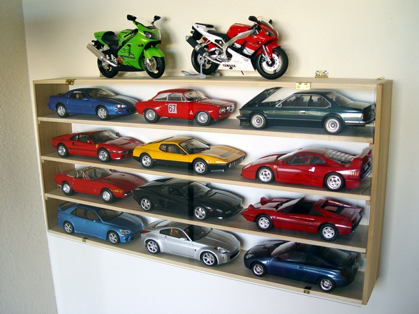... Model Cars, And Even More Smaller Scale Models, And It Only Cost You  About $15 And An Hour Of Your Time. Below Is One Of Such Display Cases I  Use For My ...